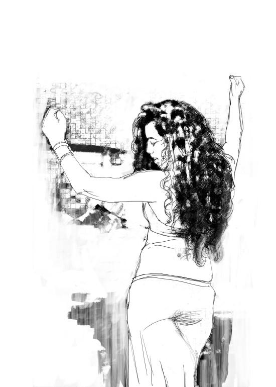 Couscous/ digital art/ illustrazioni per A Cena con Babette/ 2014
