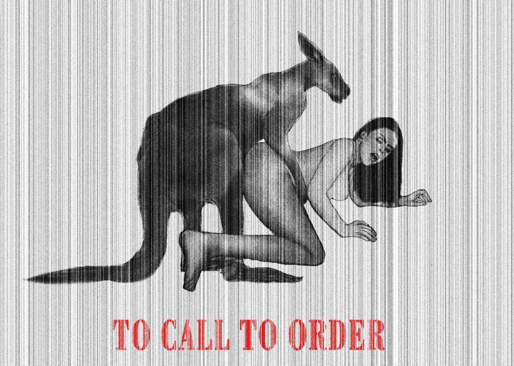 To call to order - Richiamare all'ordine Digital art/ 2012