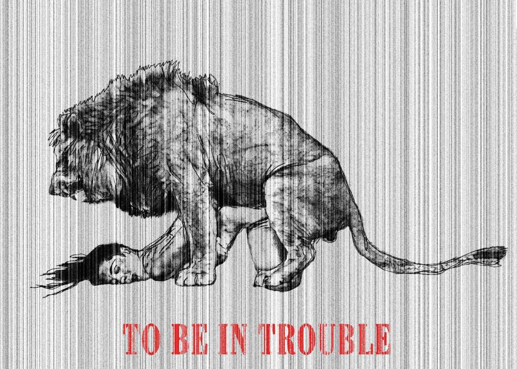 To be in trouble - Essere in difficoltà Digital art, 2012