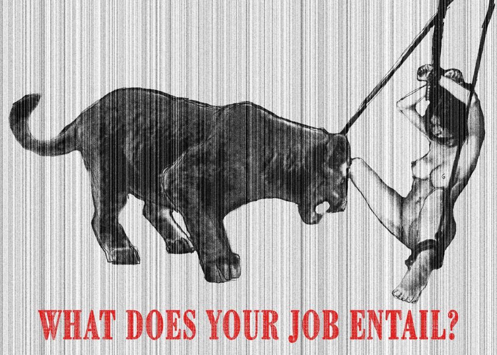 What does your job entail? - Di cosa ti occupi esattamente? Digital art/ 2012