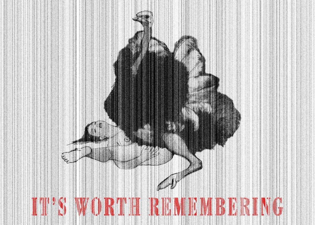 It's worth remembering - Merita di esser ricordato Digital art, 2012