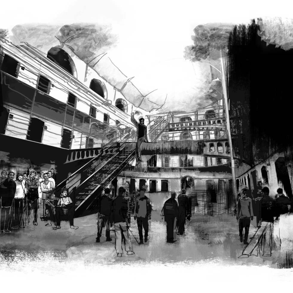 Resistenziade #15d, digital art, 2012