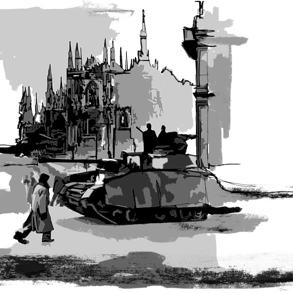 Resistenziade #07 Digital Art/ 2012